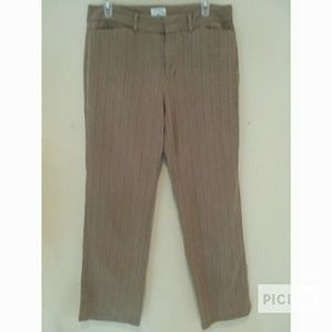 Dockers Ideal Fit Brown Straight Pants